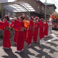 蟹江祭_道踊りと屋形